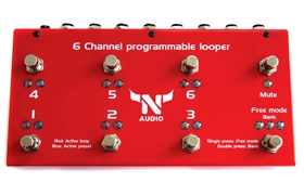 6 channel programmable looper