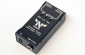 Transformer Guitar isolated splitter / Di box
