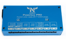 Powerbox PRO guitar effects power supply